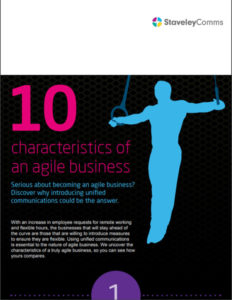 10 Characteristics of an agile workforce