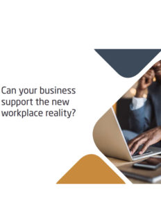 Can your business support the new workplace
