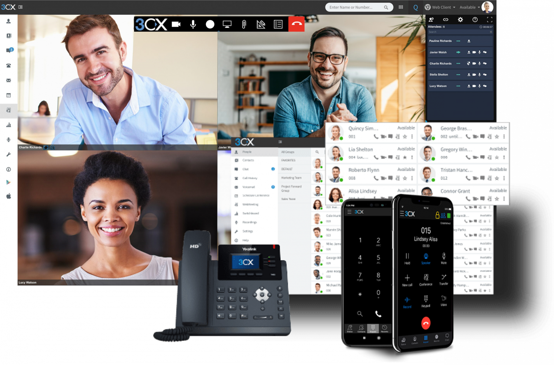 3CX fully managed PBX solution